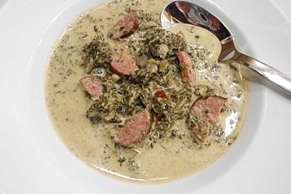 Grünkohl-Käse-Suppe 1