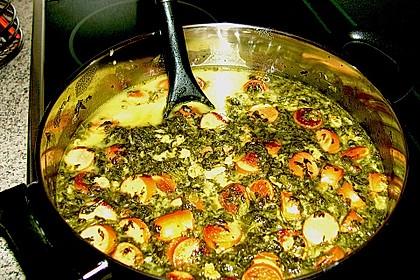 Grünkohl-Käse-Suppe 4