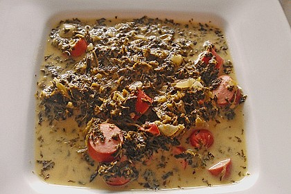 Grünkohl-Käse-Suppe 2