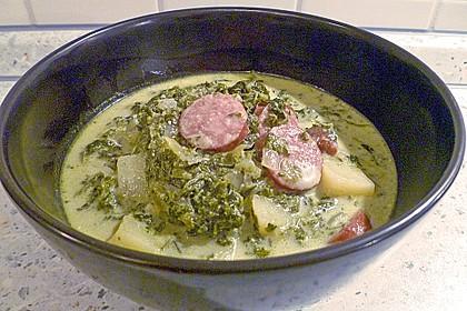 Grünkohl-Käse-Suppe 5