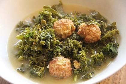 Grünkohl-Käse-Suppe 3