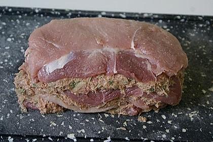 Schweineschichtbraten aus dem Schweinerücken 3