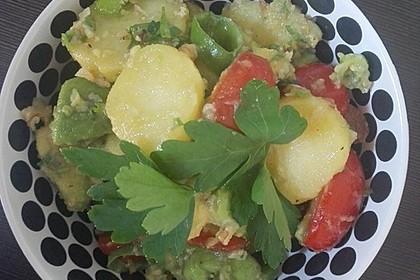 Kartoffel - Avocado Salat 6