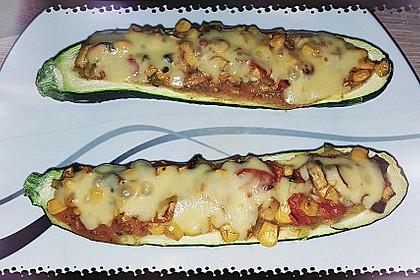 Vegetarisch gefüllte Zucchini mit Quinoa und Ahornsirup 23