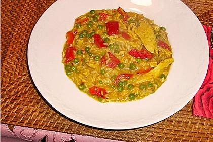Rahm - Curryhuhn indische Art (Bild)