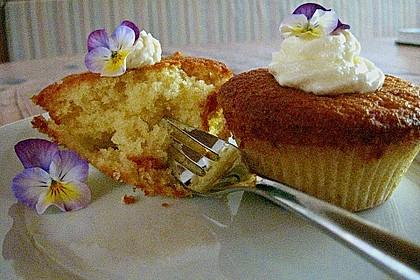 Zitronen - Cupcakes mit Waldmeister - Frischkäse - Creme 37