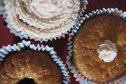 Zitronen - Cupcakes mit Waldmeister - Frischkäse - Creme 73
