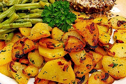 Opas Bratkartoffeln 4
