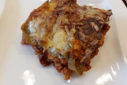 Lasagne mit fruchtiger Paprika - Hackfleisch - Soße 22