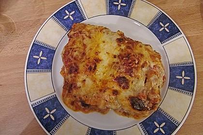 Lasagne mit fruchtiger Paprika - Hackfleisch - Soße 12