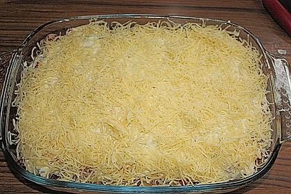 Lasagne mit fruchtiger Paprika - Hackfleisch - Soße 24