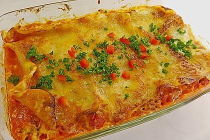 Lasagne mit fruchtiger Paprika - Hackfleisch - Soße 3