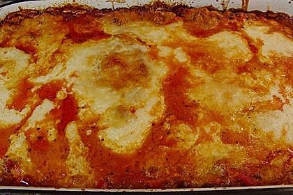 Lasagne mit fruchtiger Paprika - Hackfleisch - Soße 17