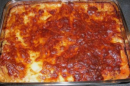 Lasagne mit fruchtiger Paprika - Hackfleisch - Soße 16