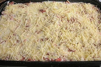 Lasagne mit fruchtiger Paprika - Hackfleisch - Soße 20