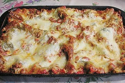 Lasagne mit fruchtiger Paprika - Hackfleisch - Soße 7