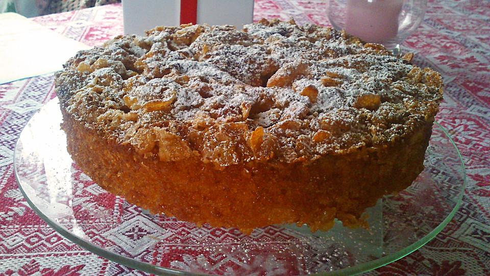 Cornflakes Kuchen Ein Raffiniertes Rezept Chefkoch De
