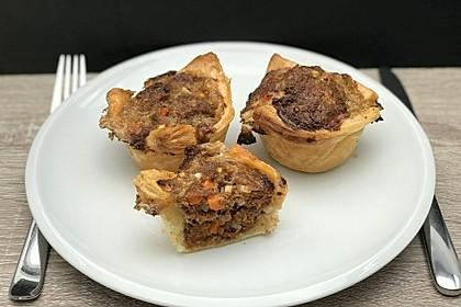 Blätterteig - Hackfleisch - Muffins 2