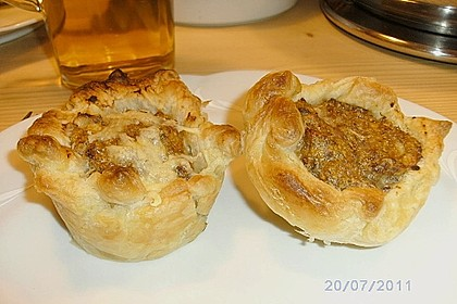Blätterteig - Hackfleisch - Muffins 13