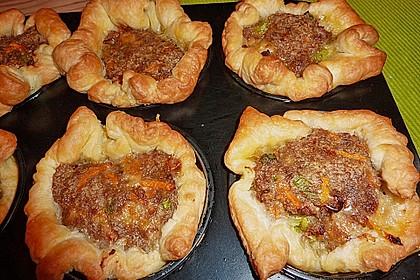 Blätterteig - Hackfleisch - Muffins 8