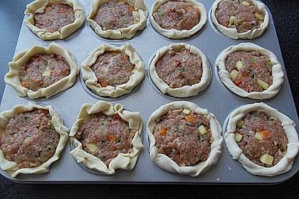 Blätterteig - Hackfleisch - Muffins 9