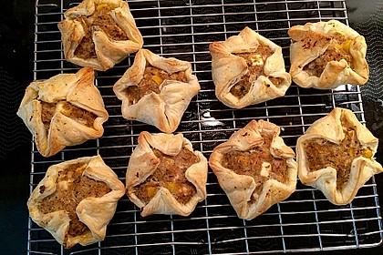 Blätterteig - Hackfleisch - Muffins 3
