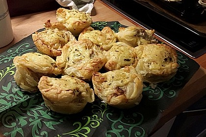 Blätterteig - Hackfleisch - Muffins 14