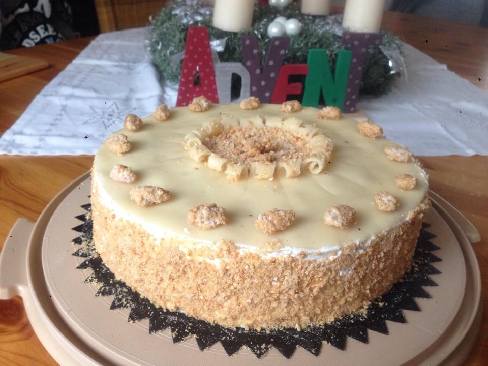 Gebrannte Mandel Kirsch Torte Von Hobbykochen Chefkoch De