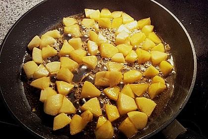 Gebratener Apfel mit Honig 5