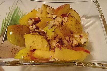 Gebratener Apfel mit Honig 1