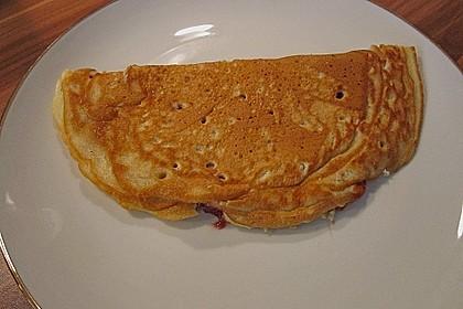 Pfannkuchen mit Hafermilch 4