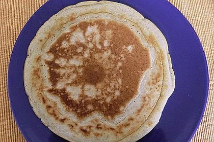 Pfannkuchen mit Hafermilch 9