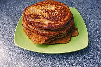 Pfannkuchen mit Hafermilch 8