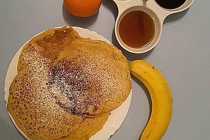 Pfannkuchen mit Hafermilch 7