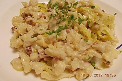 Speck - Lauch - Käsespätzle 7