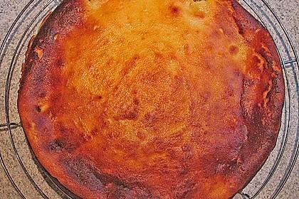Aprikosenkuchen-Käsekuchen ohne Boden 1