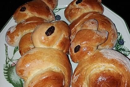 Süßer Hefeteig - von einer Bäckerin bekommen 15