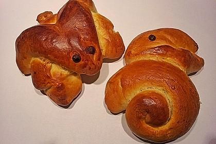 Süßer Hefeteig - von einer Bäckerin bekommen 21