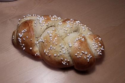 Süßer Hefeteig - von einer Bäckerin bekommen