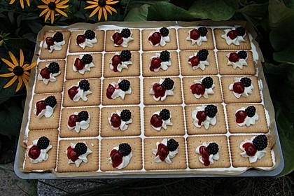 Rote Grütze Kuchen 1