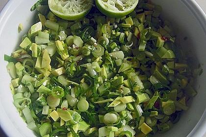 Gegrillte Schwertfisch - Steaks mit Avocado - Salsa 2
