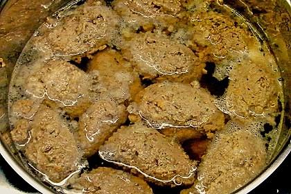 Leberknödel auf Sauerkraut 5
