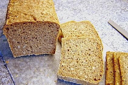 Dinkel - Buchweizen - Brot 5
