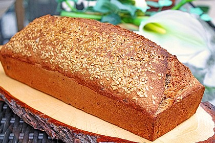 Dinkel - Buchweizen - Brot 3