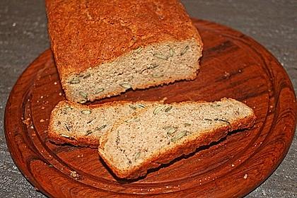 Dinkel - Buchweizen - Brot 6