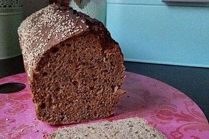Dinkel - Buchweizen - Brot 4