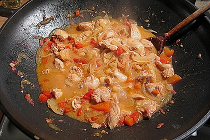 Chili - Ingwer Hühnchen