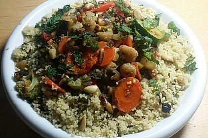 Aromatische Gemüsepfanne mit Couscous 4