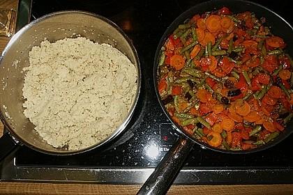 Aromatische Gemüsepfanne mit Couscous 6