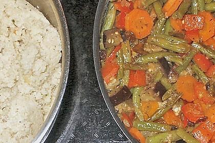 Aromatische Gemüsepfanne mit Couscous 10